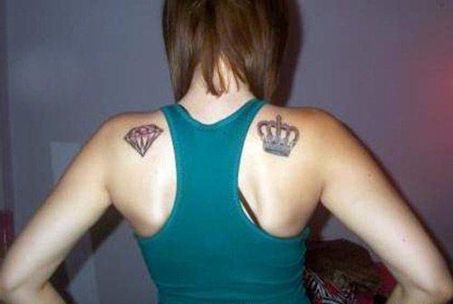 Татуировка с короной, фото