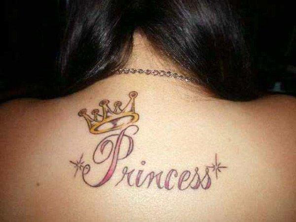 татуировка принцесса, фото