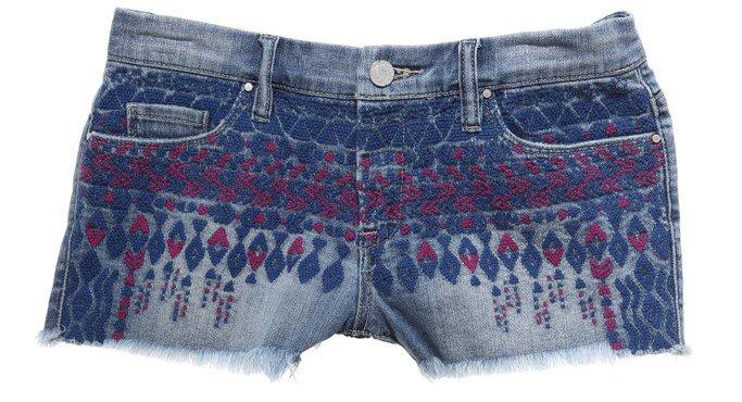 Модные джинсовые шорты, фото