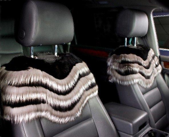 Меховые чехлы для автомобиля