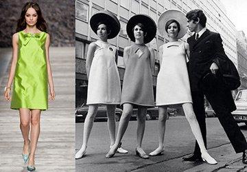 С чем носить платье А-силуэта