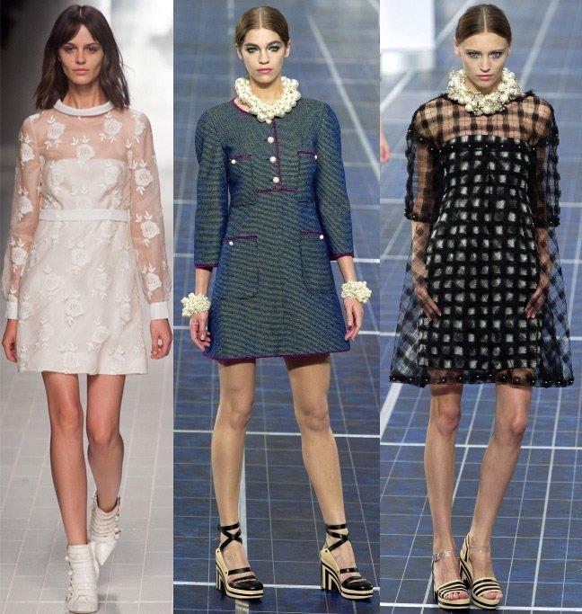 Как украсить платье а силуэта