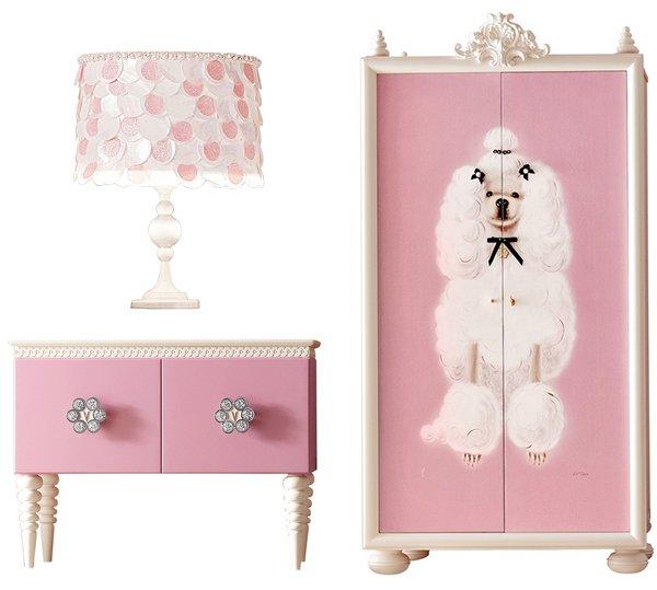 Розовая мебель, фото