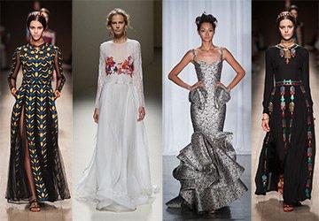 Красивые длинные платья 2014