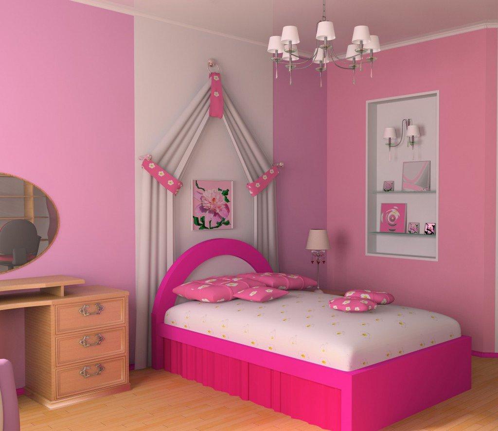 Картинки для девочек которые любят розовый