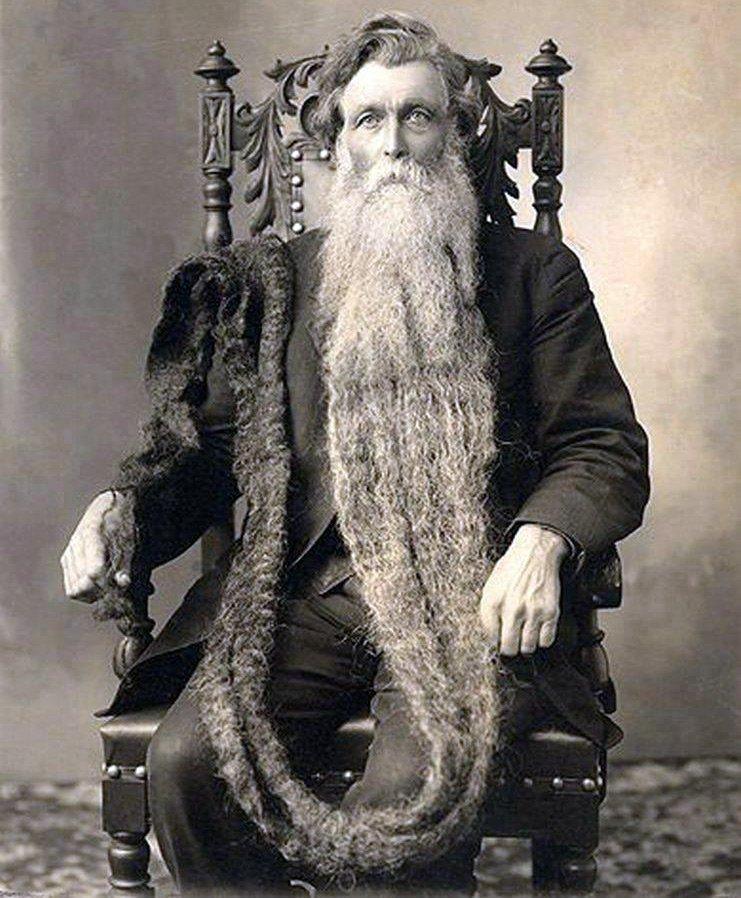 Самая длинная борода, фото