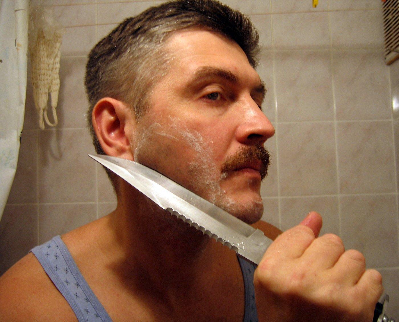 фото приколы мужчин когда бреются этом