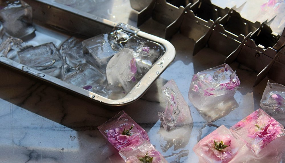 кубики из льда для лица рецепты