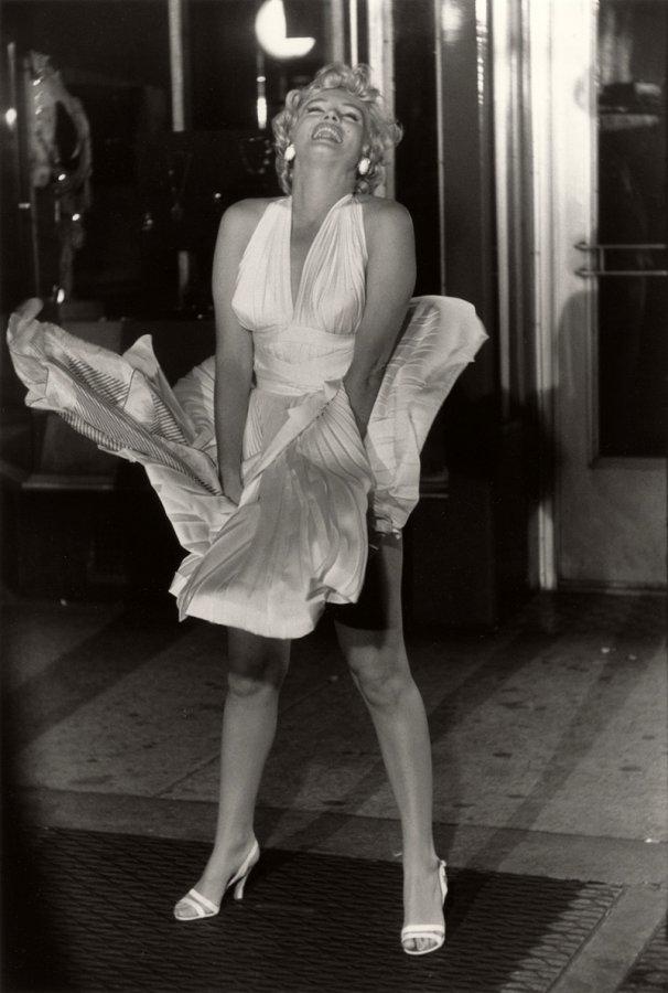 Белое платье Мэрилин Монро, фото
