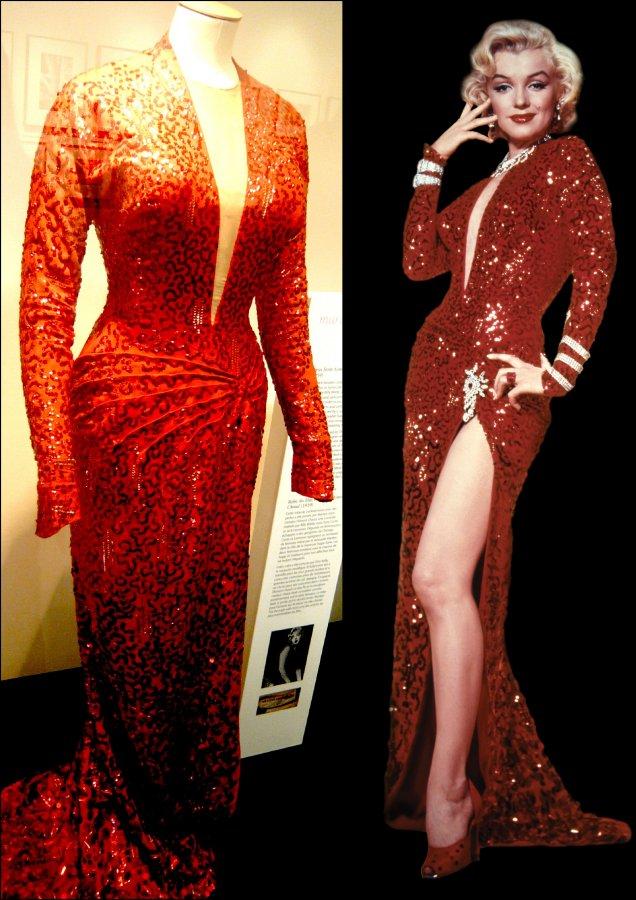 Мэрилин Монро и ее платье