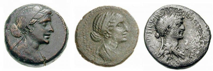 Монеты Клеопатры