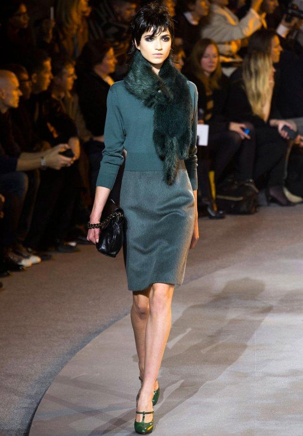 Модная юбка-карандаш, фото
