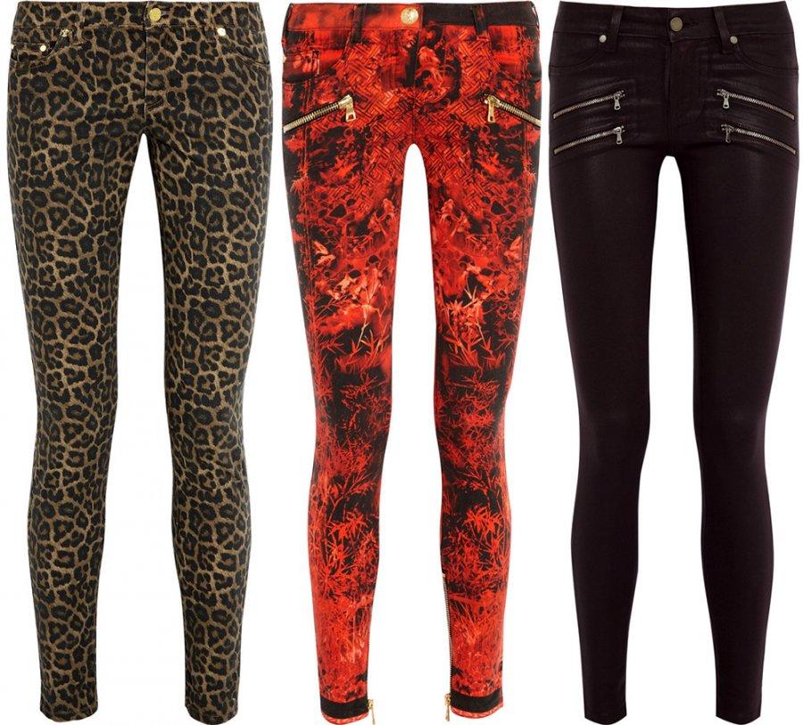 Гламурные джинсы для девушек, фото