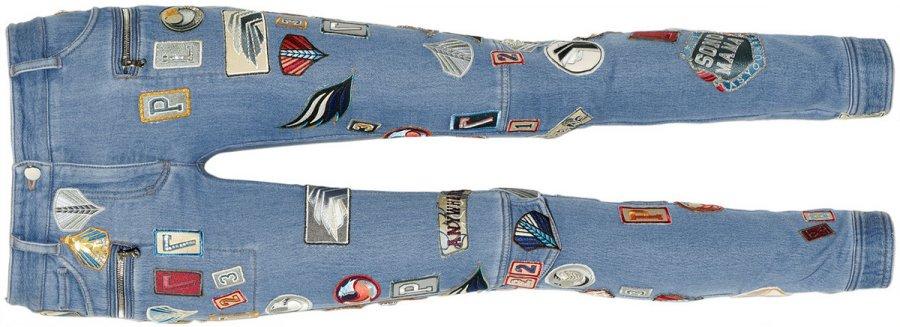 Модные джинсы для девочек, фото