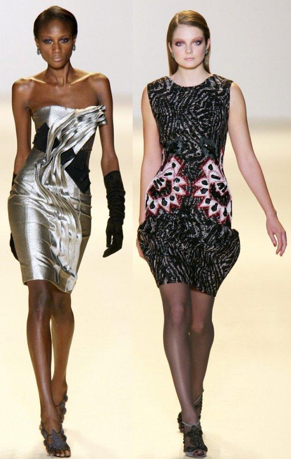 Красивые платья от бренда Carolina Herrera