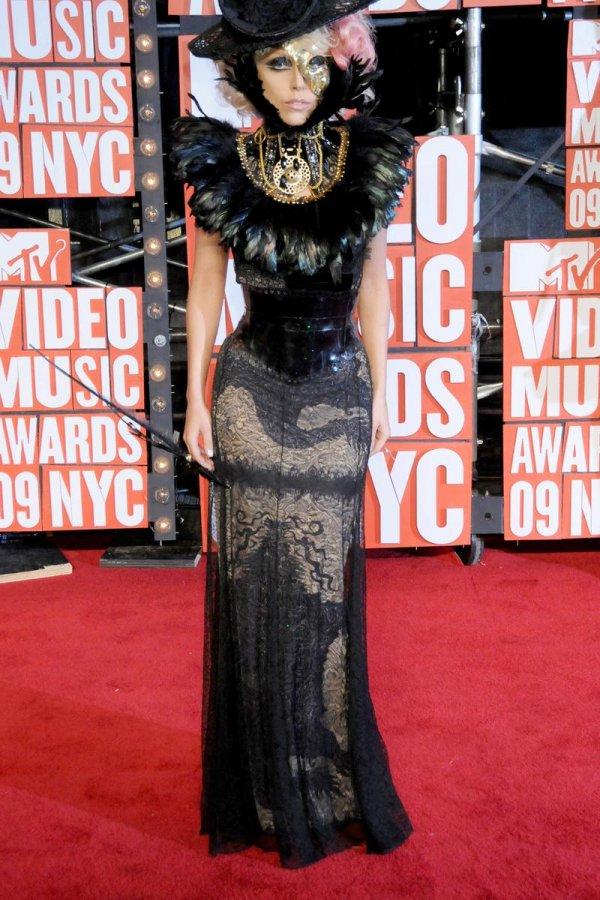 Платье певицы Леди Гага