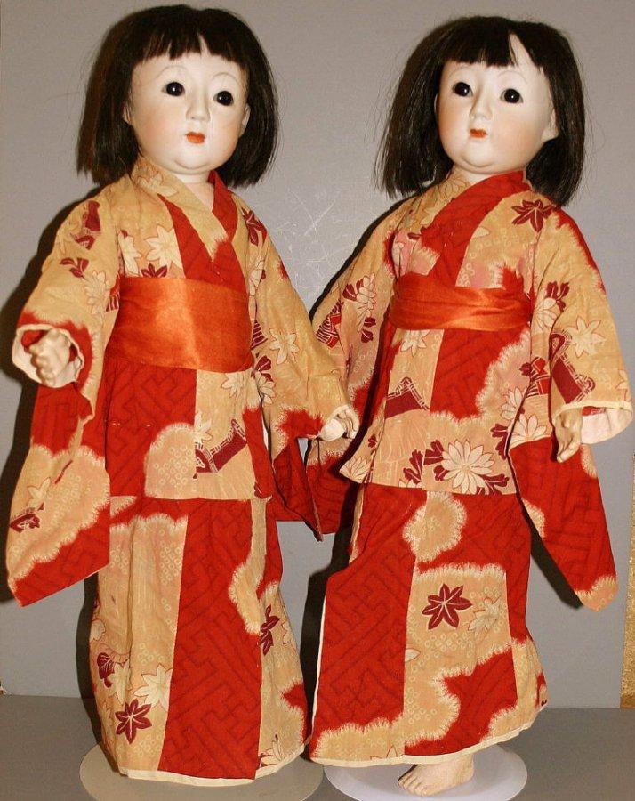 Антикварная кукла из Японии, фото