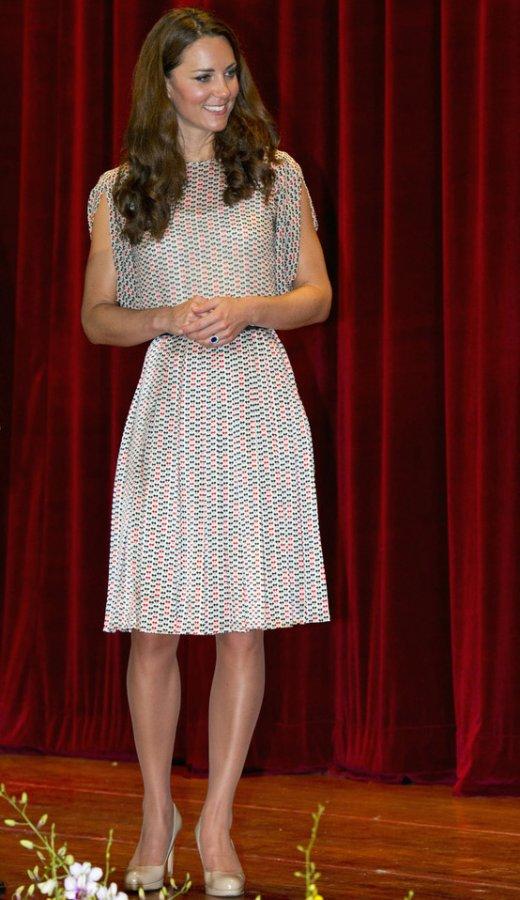 Герцогиня Кейт Миддлтон – фото в платье