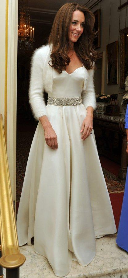 Самое красивое платье Кейт Миддлтон