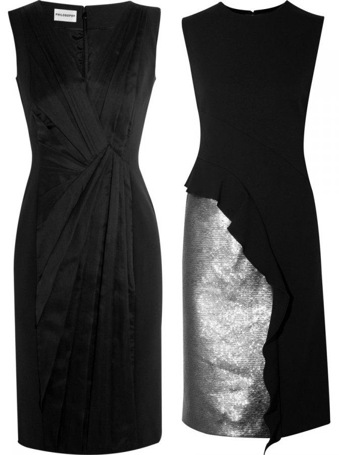 Черные платья Philosophy di Alberta Ferretti