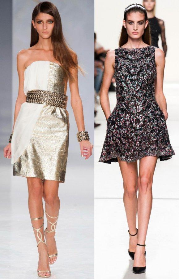 Модные платья весна-лето 2014 Genny, Elie Saab