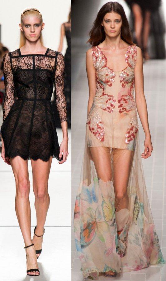 Модные платья из коллекций весна-лето 2019