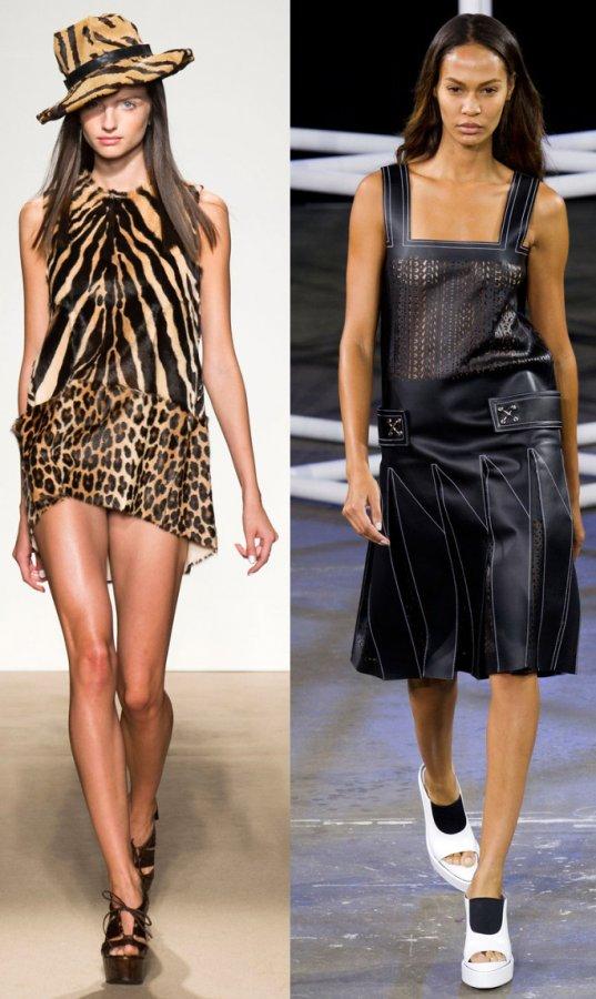 Модные платья из коллекций весна-лето 2014