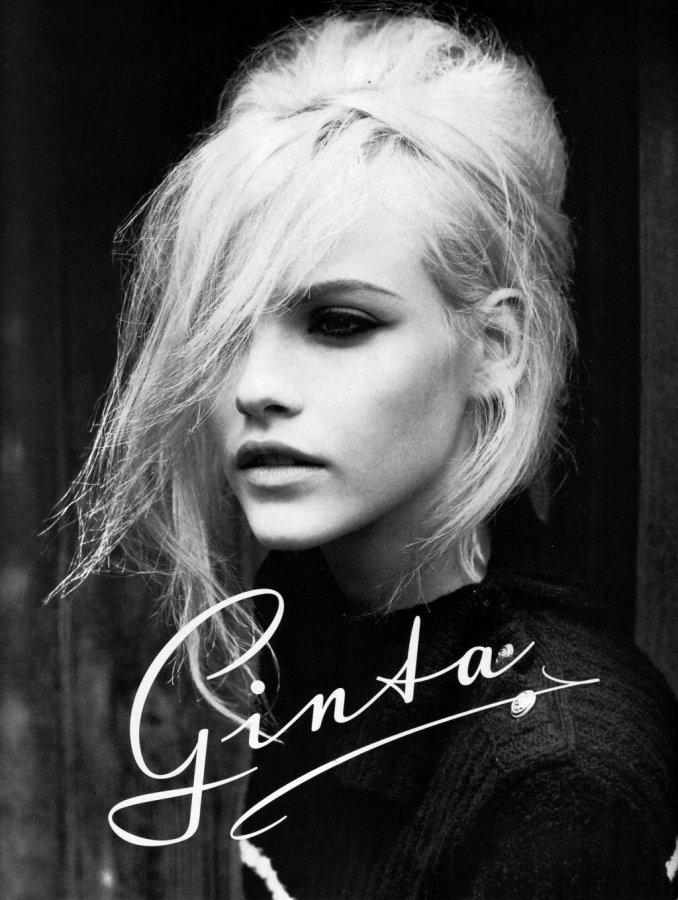 Гинта Лапина – фото с автографом