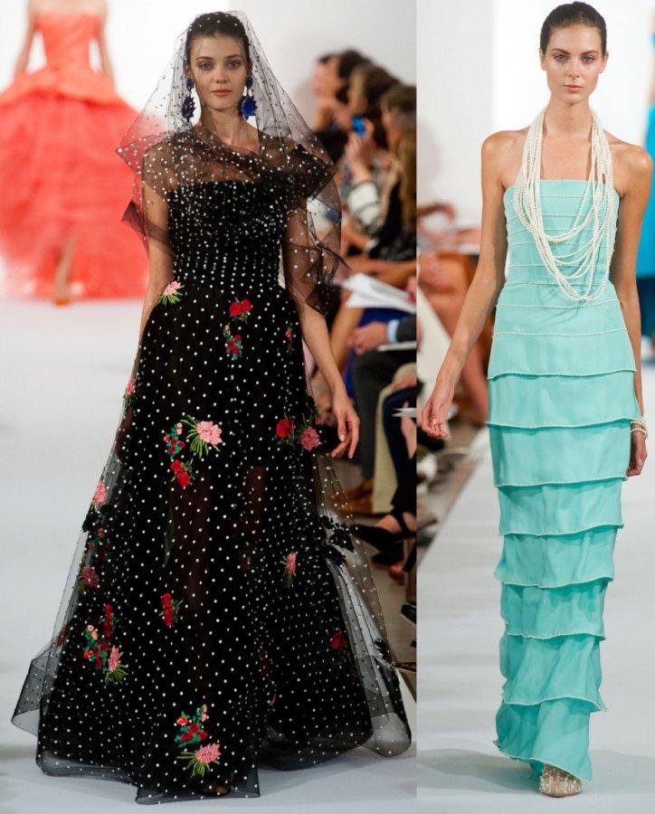 Красивые и модные вечерние платья 2014, фото
