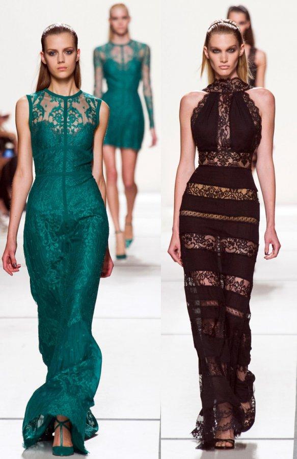 Красивые платья в пол – Elie Saab 2014