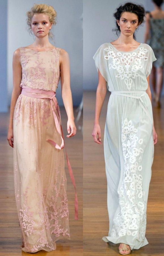 Красивые платья Collette Dinnigan