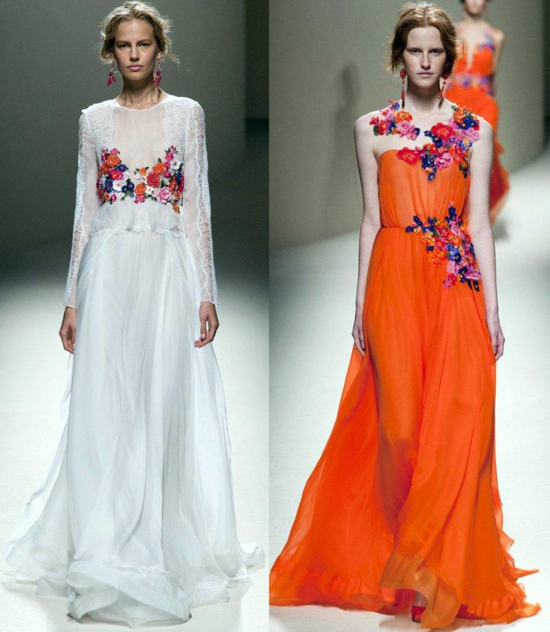 Платья из коллекции Alberta Ferretti 2014
