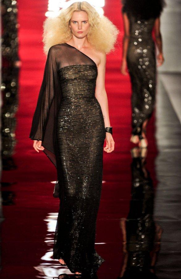 Модное вечернее платье Reem Acra