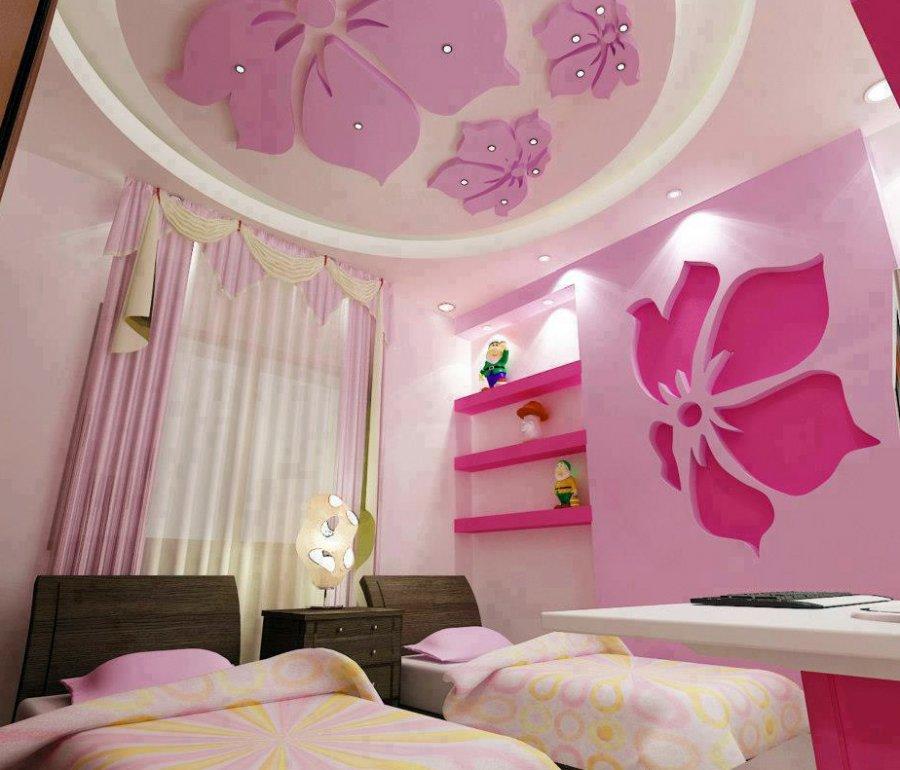 Розовая спальня, фото