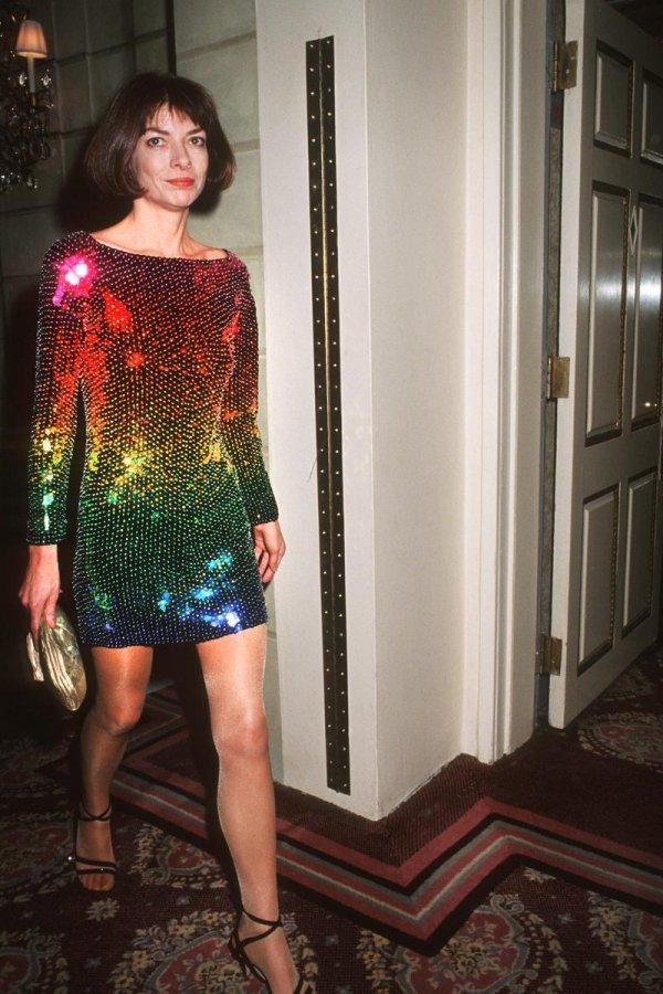 Анна Винтур, фото в молодости