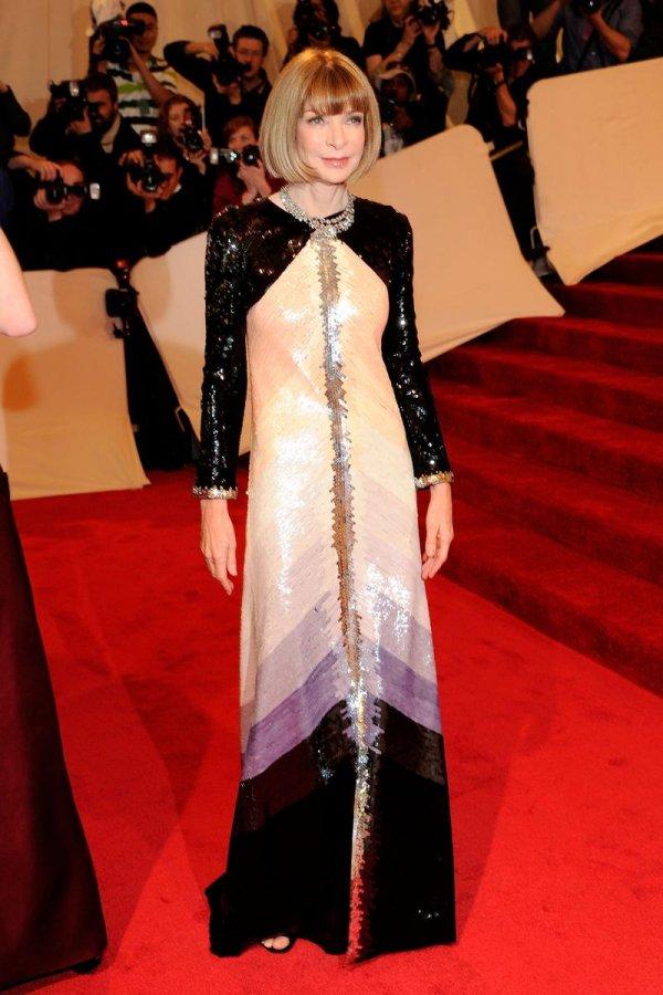 Красивое платье Анны Винтур