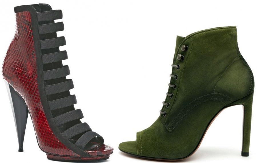 Модные ботильоны на каблуке Gucci, Santoni
