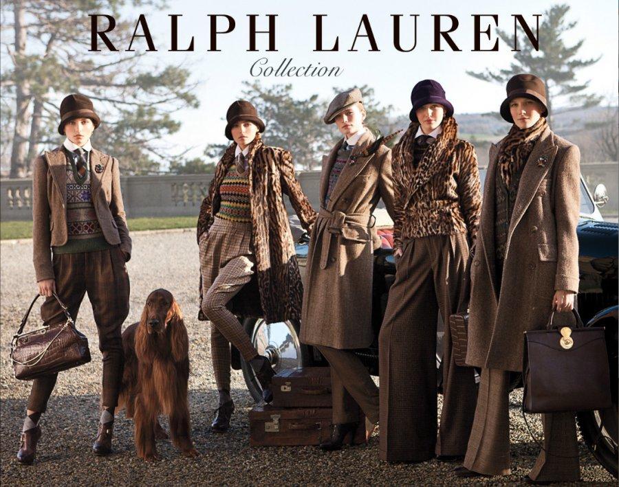 Рекламная компания для бренда Ralph Lauren