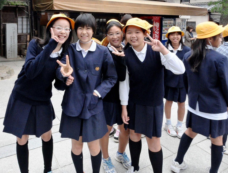 азиатские школьнаци фото и видео