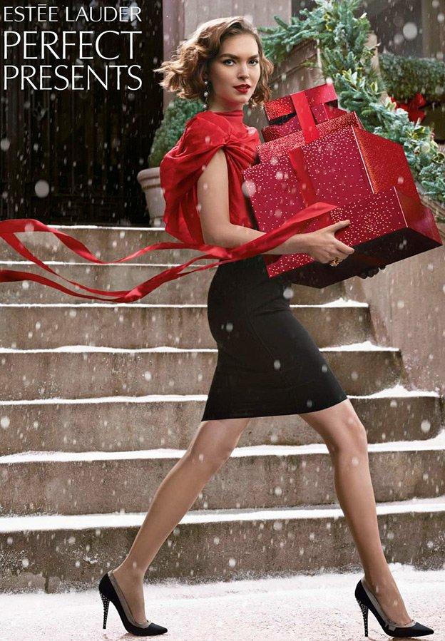 Реклама косметики Estee Lauder