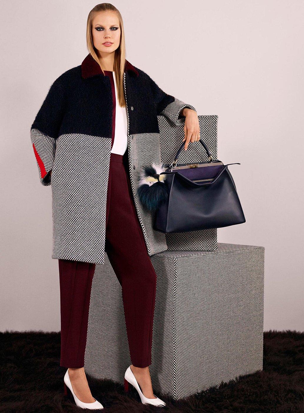 Коллекции сумок от fendi