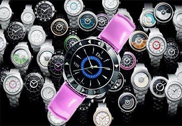 Разноцветная версия часов Dior VIII