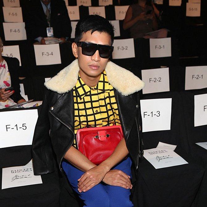 Неделя моды и блоггеры на показах
