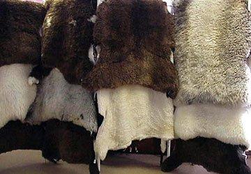 Теплые вещи из овчины