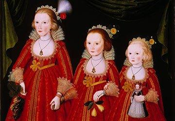 Женщины и девочки XVII века