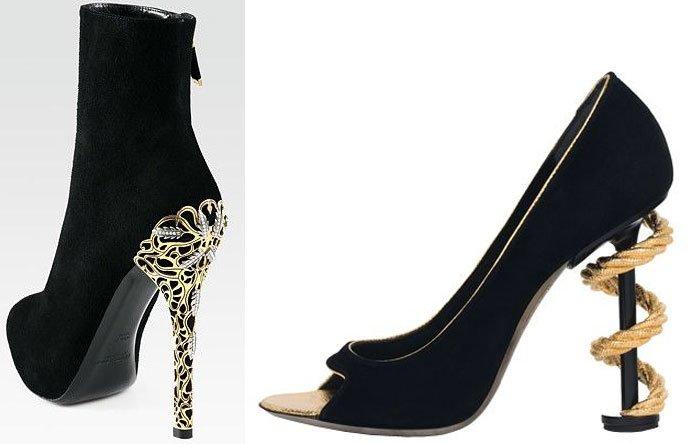 Красивые и необычные каблуки