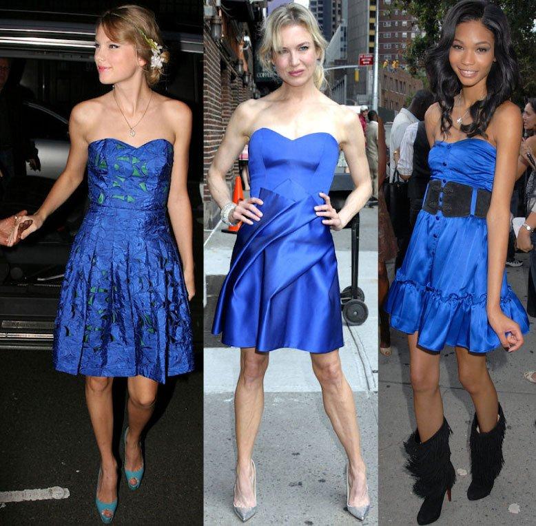 Синий цвет в одежде и аксессуарах