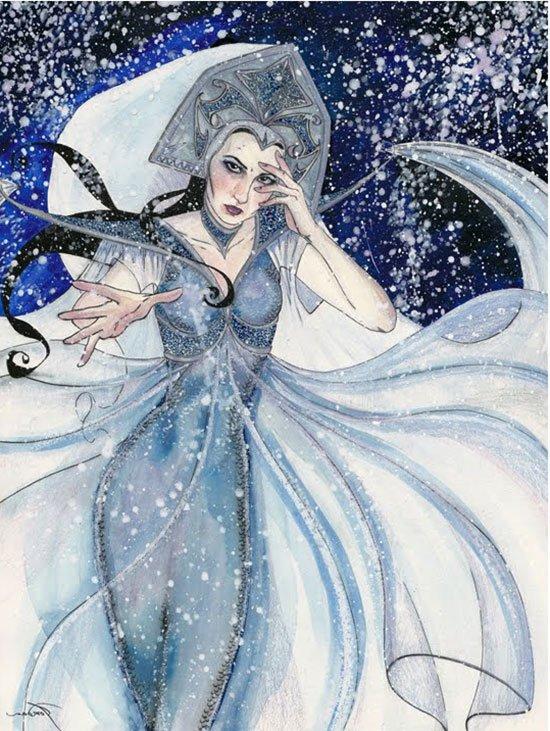 Ледяная красавица Снежная Королева