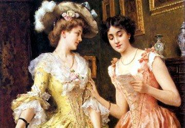 Барокко и рококо в истории моды