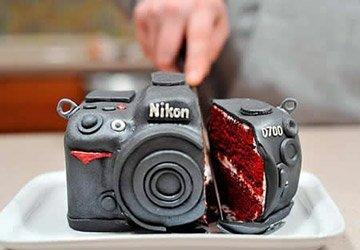 Торт креативного дизайна на Новый Год!